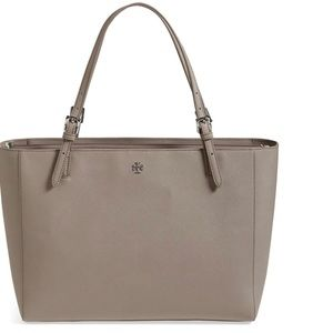 Tory Burch Leather York Buckle Tote
